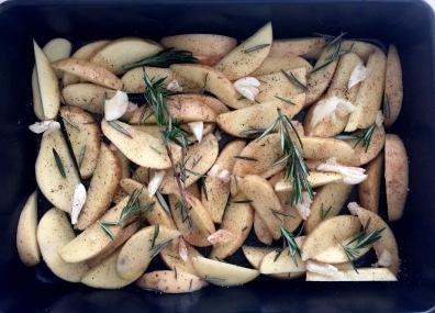 Roasted Rosemary Garlic Wedges